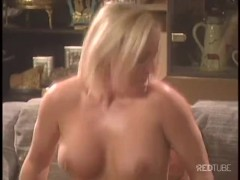 Blonde Humping A Dick