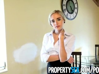 PropertySex - Really bad real estate agent fucks private investigator
