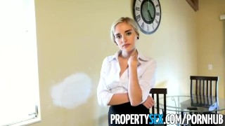 PropertySex - Really bad real estate agent fucks private investigator Rubbing petite