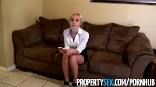 PropertySex - Really bad real estate agent fucks private investigator Hard reverse