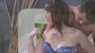 MOM Older woman loves her toy boys hard cock deep inside her On funny