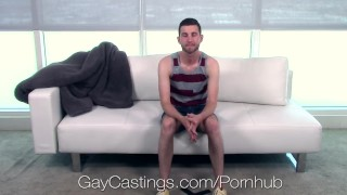 Casting Agent Fucks John Daring in Porn Audition porno