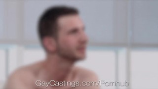 Casting Agent Fucks John Daring in Porn Audition Solo masturbation