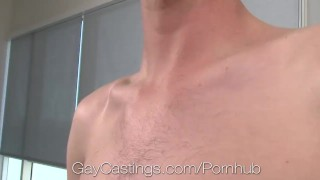 Agent fucks daring john casting porn in audition pov cock