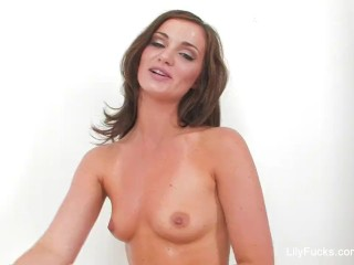 Anal play and interview with Lily Carter