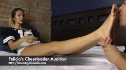 Felicia's Cheerleader Audition - www.c4s.com/8983/14437693