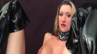 Busty amateur milf fisted in her greedy pussy Bound tied