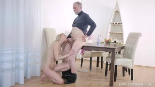 Tubes Porn - Old Goes Young - Uma Zex Old Goes Young Guy Makes Polina Want Him Badly By Sucking Her Tits