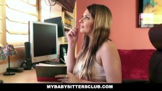 MyBabySittersClub - Young Babysitter Fantasizes About Boss porno