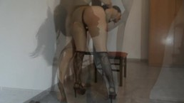 Spanking punishment for spending too much money