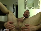 Hugh Hunter's Hairy Muscle Ass at JockMenLive.com