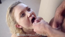 Passion-HD - Little Dakota Skye gives Johnny a sexy treat