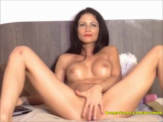 The Webcam Experience Presents Sexy brunette having a juicy and intense orgazm