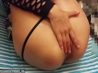 Sexy Aussie Brunette Gets Fucked & Squirts Hard - Part 1