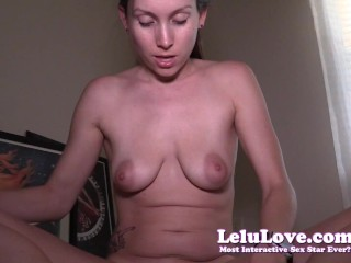 Lelu Love-Personal Trainer Strips While Stretching