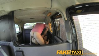 Cock facial faketaxi big teasing stunner gets cock sex