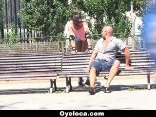 Preview 2 of OyeLoca - Spanish Teen Gets Drilled
