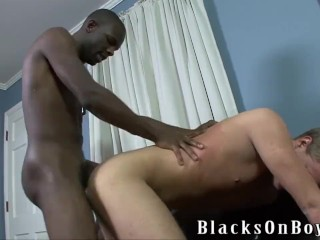 Joe Andrews Is Excited To Have His First Black Cock