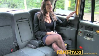 FakeTaxi Back seat fucking for hot Romanian babe with huge natural tits Boobs big
