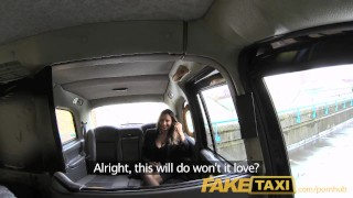 Faketaxi babe for tits romanian hot seat natural with huge back fucking natural sex