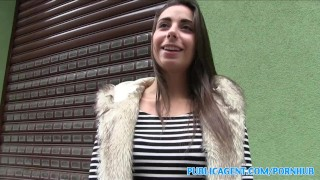 PublicAgent Personal trainer with amazing body fucks for cash  hot-body personal-trainer outdoors outside sex-for-cash amateur cumshot public fake-tits pov fitness real camcorder sex-for-money reality spanish publicagent sex-with-stranger