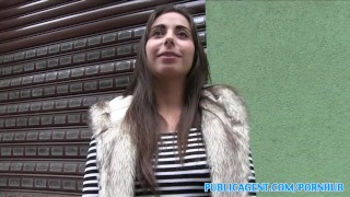 PublicAgent Personal trainer with amazing body fucks for cash  personal-trainer outdoors outside sex-for-cash amateur cumshot public fake-tits pov fitness real camcorder sex-for-money reality spanish publicagent sex-with-stranger hot-body