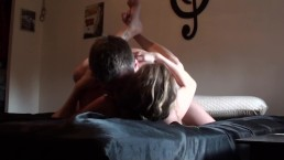 Sextape Made With The Camera At The Corner Of The Bed, Head First, Busty HD