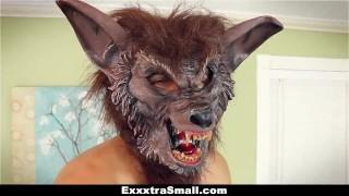 Small fucked teen and halloween fooled exxxtrasmall on exxxtrasmall cumshot