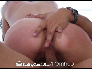 CastingCouch-X - Cute smiley Aspen Reign wants to get fucked on camera