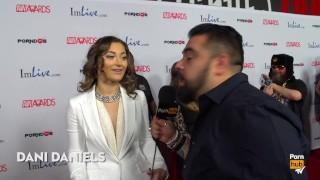 Craziest Thing Inserted in Vagina 2015 AVN Red Carpet Interviews PornhubTV