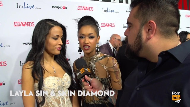 Gina marie la montana fuck - Treat yourself or beat yourself 2015 avn red carpet interviews pornhubtv