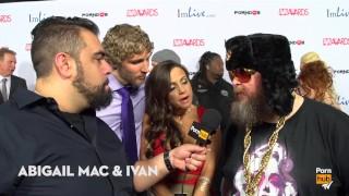 Red carpet pornhubtv thing to masturbated interviews avn you weirdest masturbate 2015