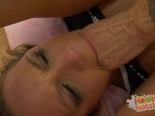 Sara Martins Pigalle Hookuphotshot - Blonde Teen Fucked Until She S A Total Mess