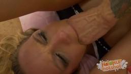HookUpHotShot - Blonde Teen Fucked Until She's a Total Mess!