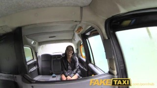 Preview 2 of FakeTaxi London cabbie arse fucks Spanish passenger