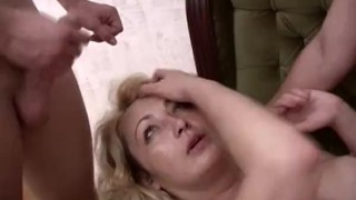 Old Grandma Looting Flowers Gets Fucked Outdoors mature milf hardcore old european mom old and young blowjob blonde cougar outdoor glasses cumshot momswithboys mother granny