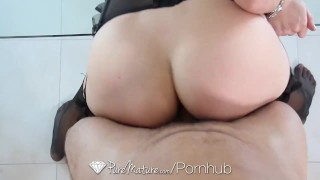 PureMature - Hot Holly Michaels gets home for some real sexy work