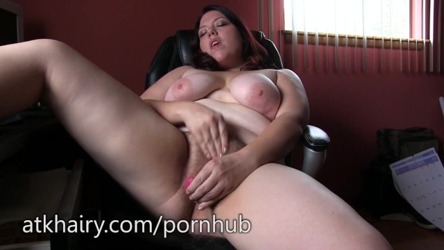 Hairy bush wife brunette mature Ada has a big hairy bush