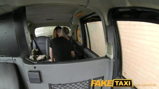 Preview 4 of FakeTaxi Stunning gold digger with a great body