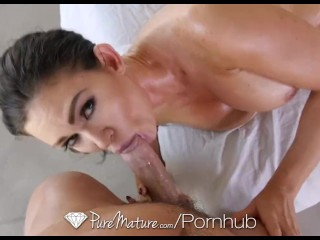 Pinay Hotsex Scandal PureMature - Perfect 10 babe Kendall Karson is fucked on the massage table