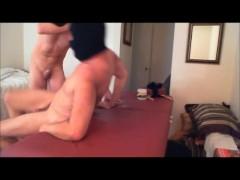 ski masked BB raw fuck-Daddy Massage-prt4