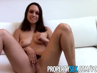 Preview 6 of PropertySex - Motivated real estate agent uses her pussy to land client