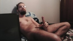 Chill jerk session, nice cumshot