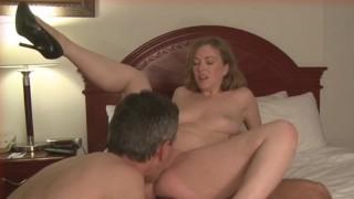 cuckold husband eats creampie wife cuckold amateur
