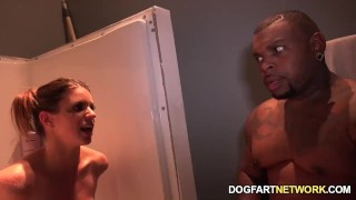 Brooklyn Chase Fucks Two Black Guys To Please Her Hubby Hix ass