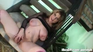 Wynn on pussy hot striptease showing tyla her pov spread