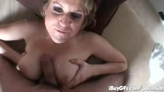 Pornstar Tyla wynn sucking cock and gets jizzload