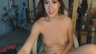 Gorgeous Asian Shemale on Cam Tscam4free cock