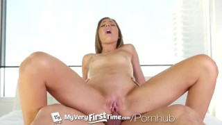 MyVeryFirstTime Anal creampie for first timer and nervous Shyla Ryder