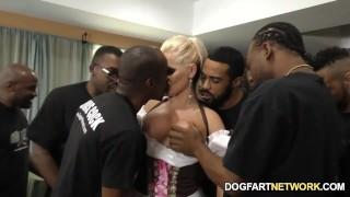 Alena Croft Serves Her Pussy Up To Black Men Doggy milf